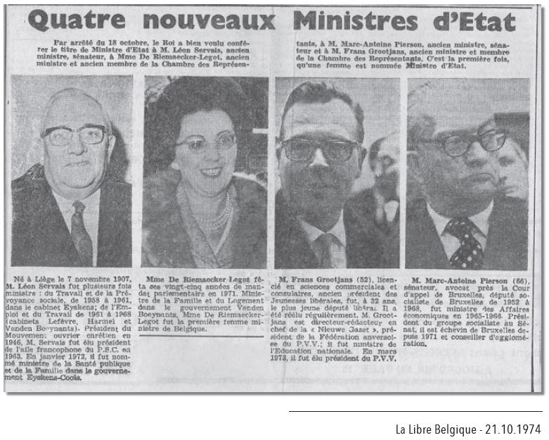 Marguerite_DeRiemaecker_Minister_v_Staat